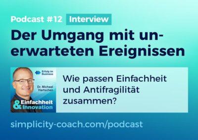 Podcast #12 Der Umgang mit unerwarteten Ereignissen